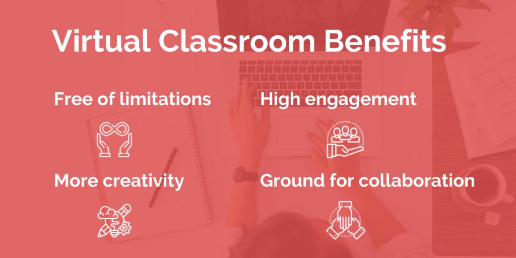 virtual classroom benefits