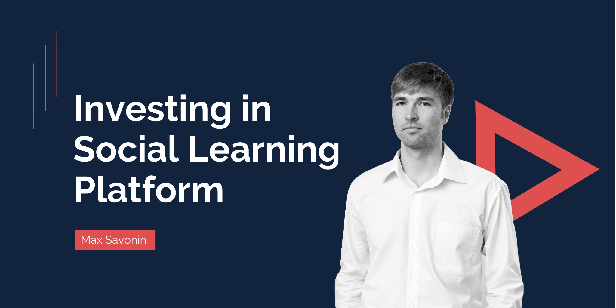 Investing in Social Learning Platform: For and Against