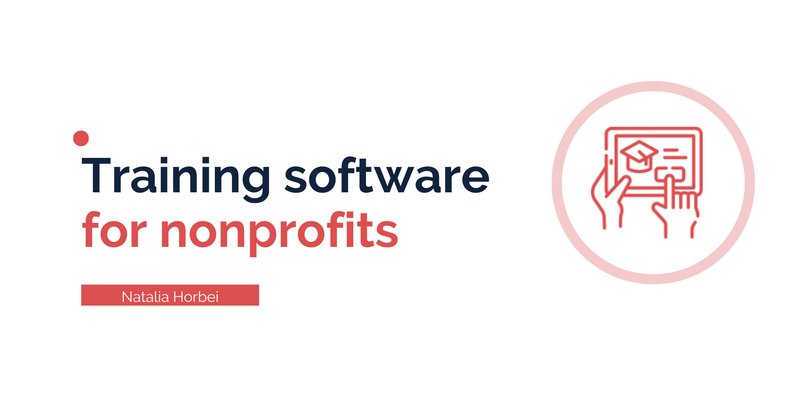 Training Software for Nonprofits